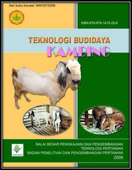 Teknologi Budidaya Kambing